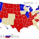 Swing States To Watch In The 2016 Election With Regard To Red States Map 2015