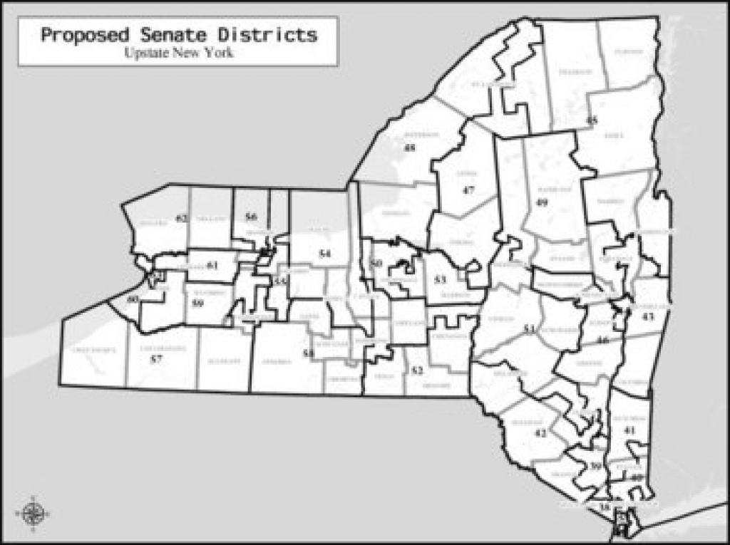 Syracuse Sens. John Defrancisco, David Valesky Benefit In intended for Ny State Representative District Map