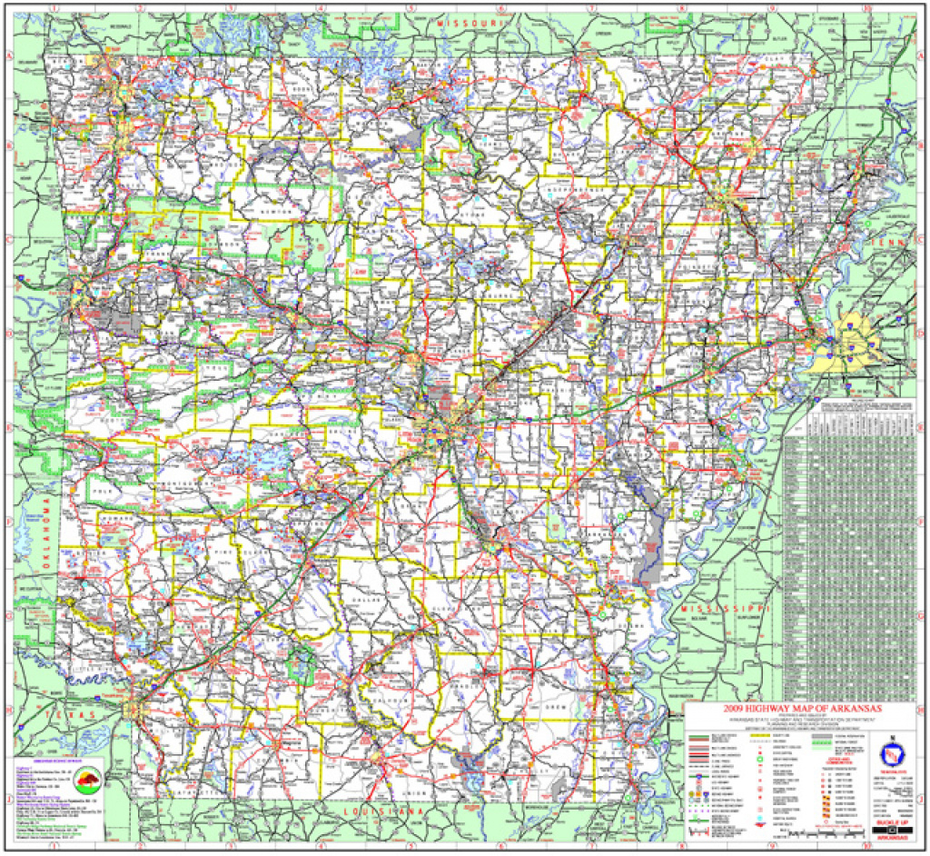System Information & Research Division pertaining to State Highway Map