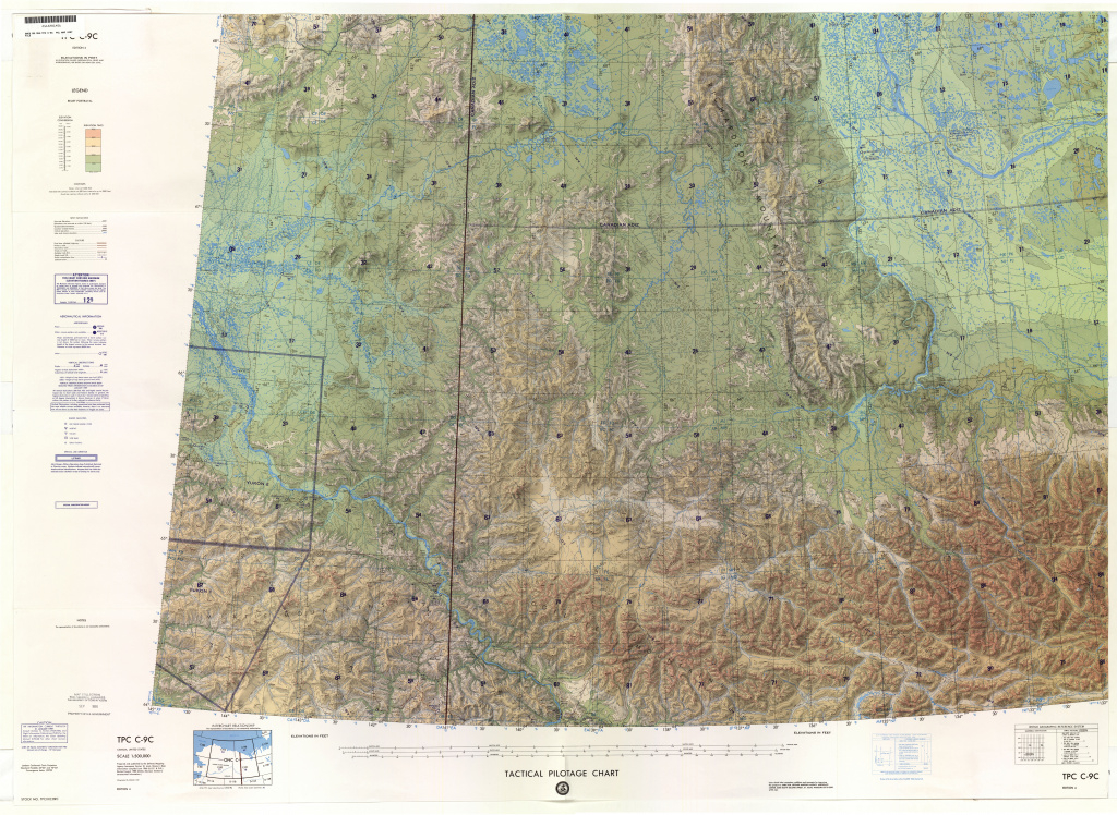 Tactical Pilotage Charts - Perry-Castañeda Map Collection - Ut inside United States Defense Mapping Agency