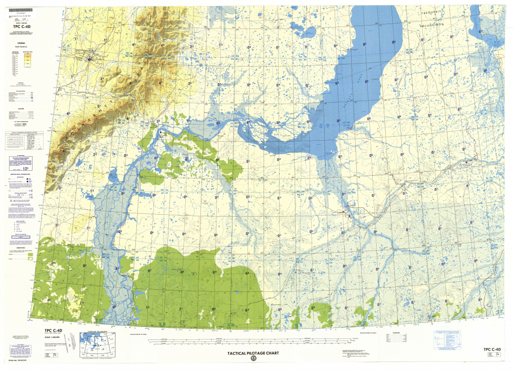 Tactical Pilotage Charts - Perry-Castañeda Map Collection - Ut with regard to United States Defense Mapping Agency