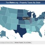 Tax Rates: Interactive Map, | Lake County Appeal With Regard To Tax Rates By State Map