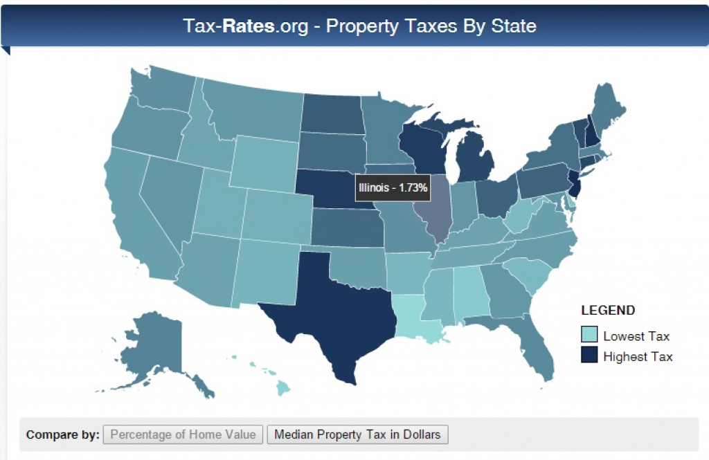 Tax-Rates: Interactive Map, | Lake County Appeal with regard to Tax Rates By State Map