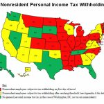 Taxes, Taxes Everywhere   The New York Times Pertaining To States With No Income Tax Map