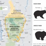 Teeth Bared Over Proposal To Return Grizzlies To Cascades | The Intended For Bears In Washington State Map