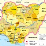 Template:nigeria States Map   Wikipedia Pertaining To Map Of Nigeria With States