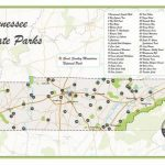 Tennessee State Parks Map | Etsy Inside Tennessee State Parks Map