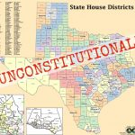 Texas Federal Court Finds Discriminatory Intent In Congressional In Texas State House District Map