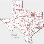 Texas Highway Map — Downloadable World Map For Texas State Highway Map