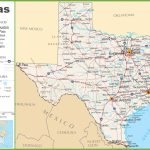 Texas Highway Map With Regard To Texas State Highway Map