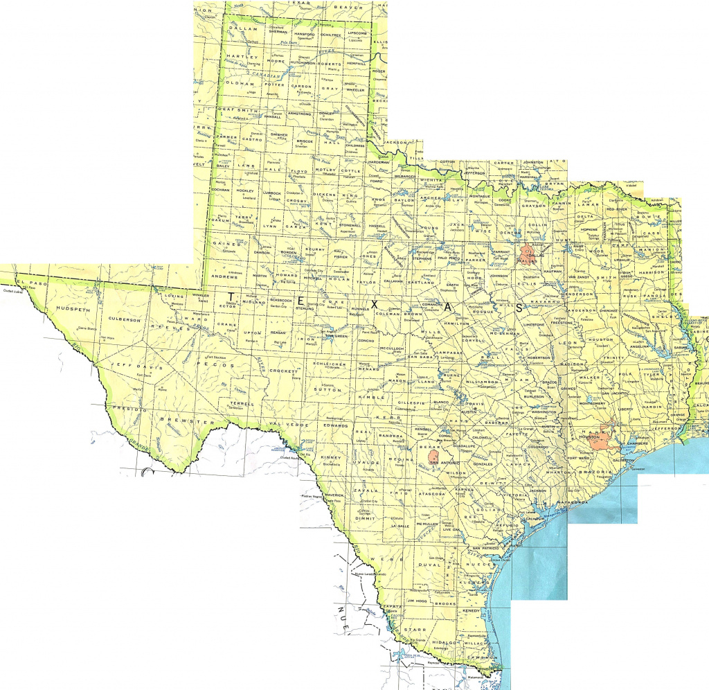 Texas Maps - Perry-Castañeda Map Collection - Ut Library Online pertaining to Www Texas State Map