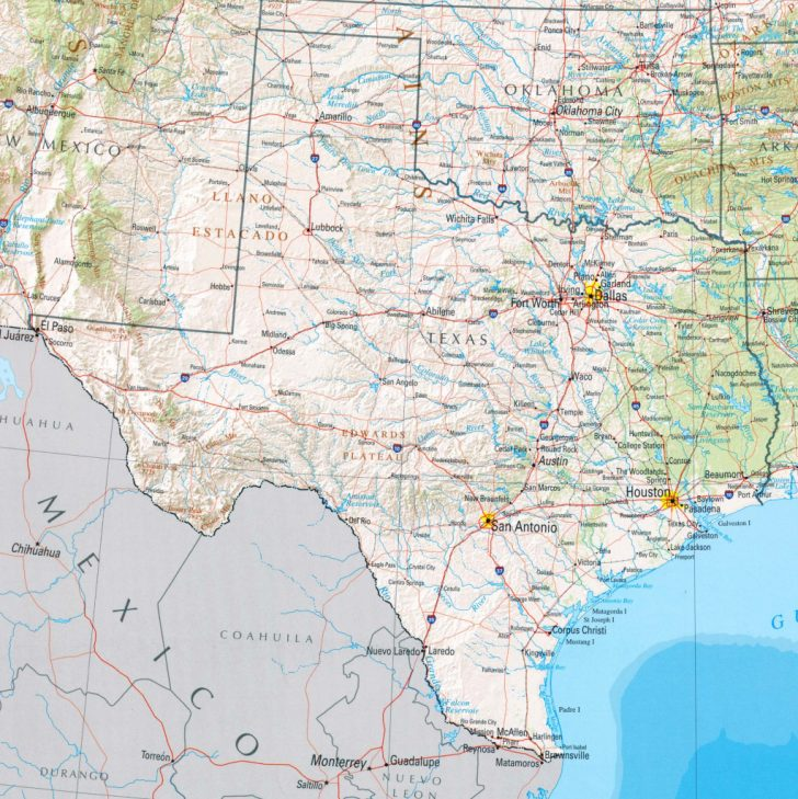 Www Texas State Map