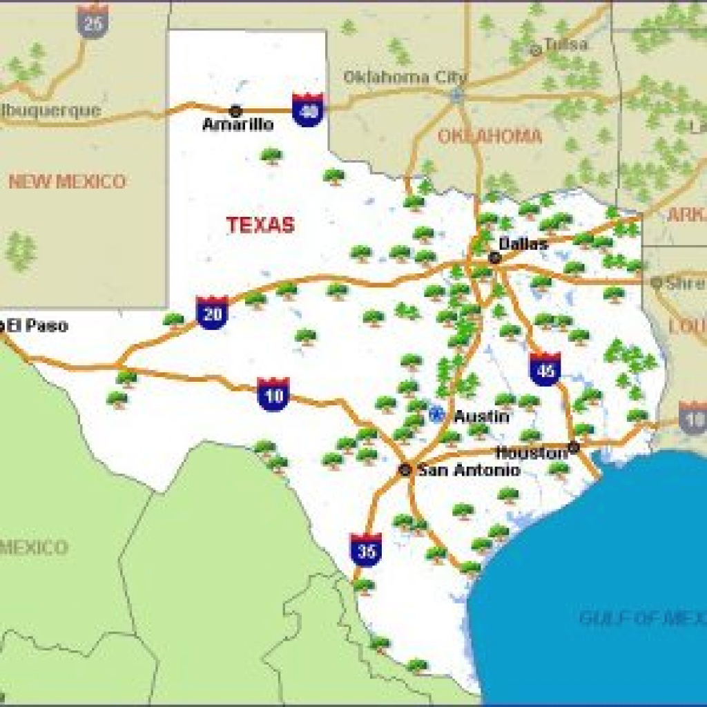 Texas National Parks State Parks Texas Map — Downloadable World Map regarding Texas State Parks Map