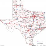 Texas Road Map A Map Of Texas State — Downloadable World Map A Map Inside Texas State Highway Map