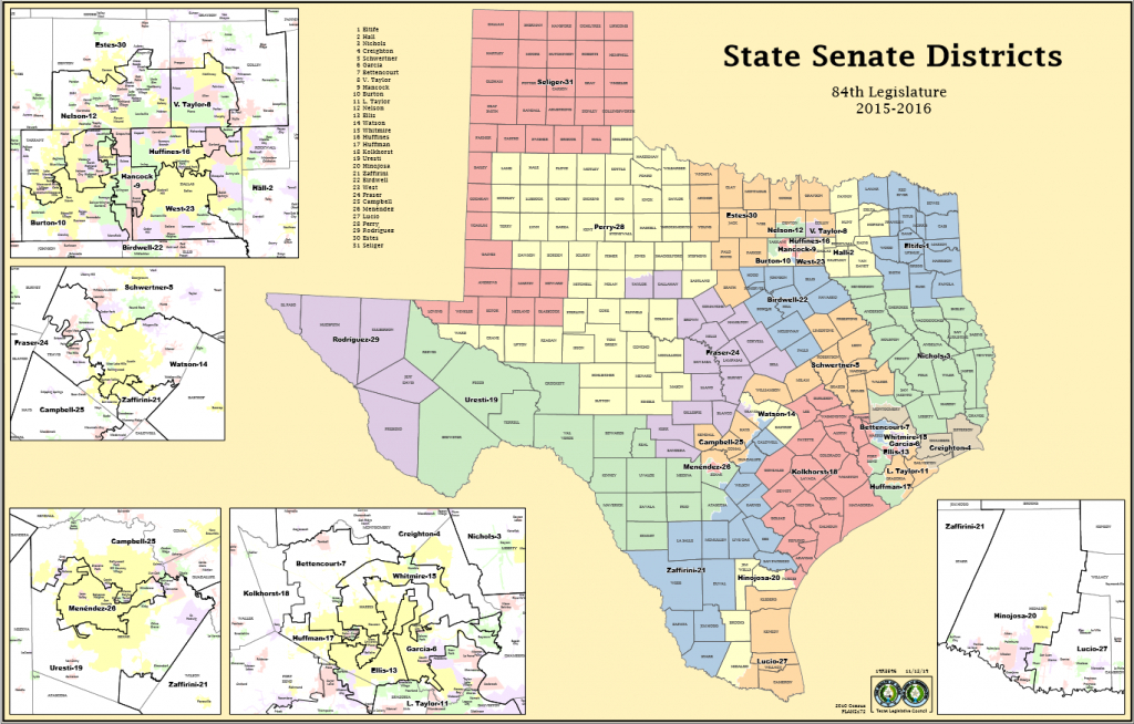 Texas Senate District Map | Business Ideas 2013 pertaining to Texas State House District Map