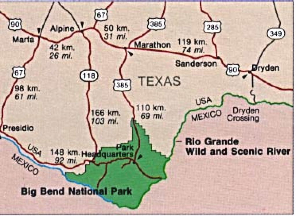 Texas State And National Park Maps - Perry-Castañeda Map Collection regarding Texas State Parks Map