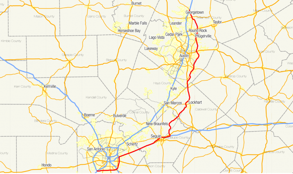 Texas State Highway 130 - Wikipedia throughout Texas State Highway Map
