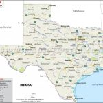 Texas State Map, Map Of Texas State Pertaining To State Map Com
