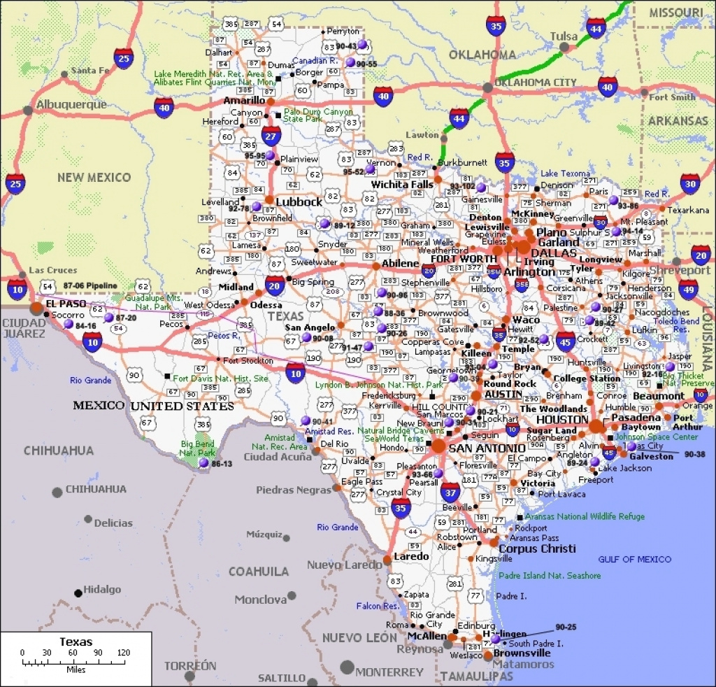 Texas State Map With Cities Map Of Texas Cities Texas Map With regarding Texas Map State Cities