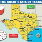 Texas State Map With Www Texas State Map