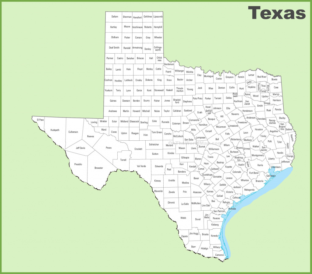 Texas State Maps | Usa | Maps Of Texas (Tx) intended for Www Texas State Map