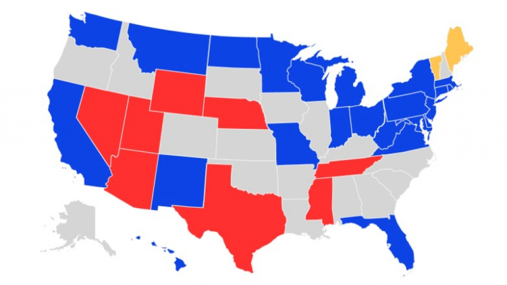 The 10 Senate Seats Most Likely To Switch Parties In 2018: October inside Republican States Map