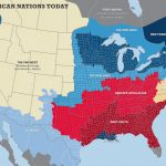 The 11 Nations Of The United States   Business Insider With What States I Ve Been To Map