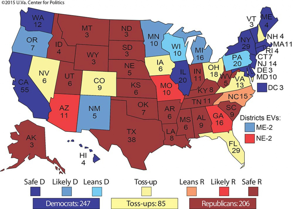 The 2016 Results We Can Already Predict Via Politico   Political Maps with regard to 2016 Electoral Map By State
