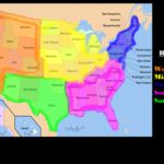 The 5 Regions Of The United States: Lesson For Kids   Video & Lesson Intended For United States Map Divided Into 5 Regions