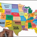 The 50 States And Capitals Song | Silly School Songs   Youtube In A Big Map Of The United States With Capitals
