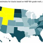 The Audacious Epigone: State Iq Estimates, Blacks Only (2013) With Regard To Iq By State Map