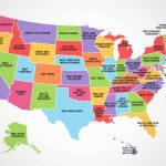 The Best (And Worst) Thing About Each State | Mental Floss Within Map Of Who Won Each State