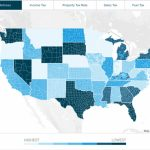 The Best States To Retire For Taxes | Smartasset Regarding Retirement Friendly States Map