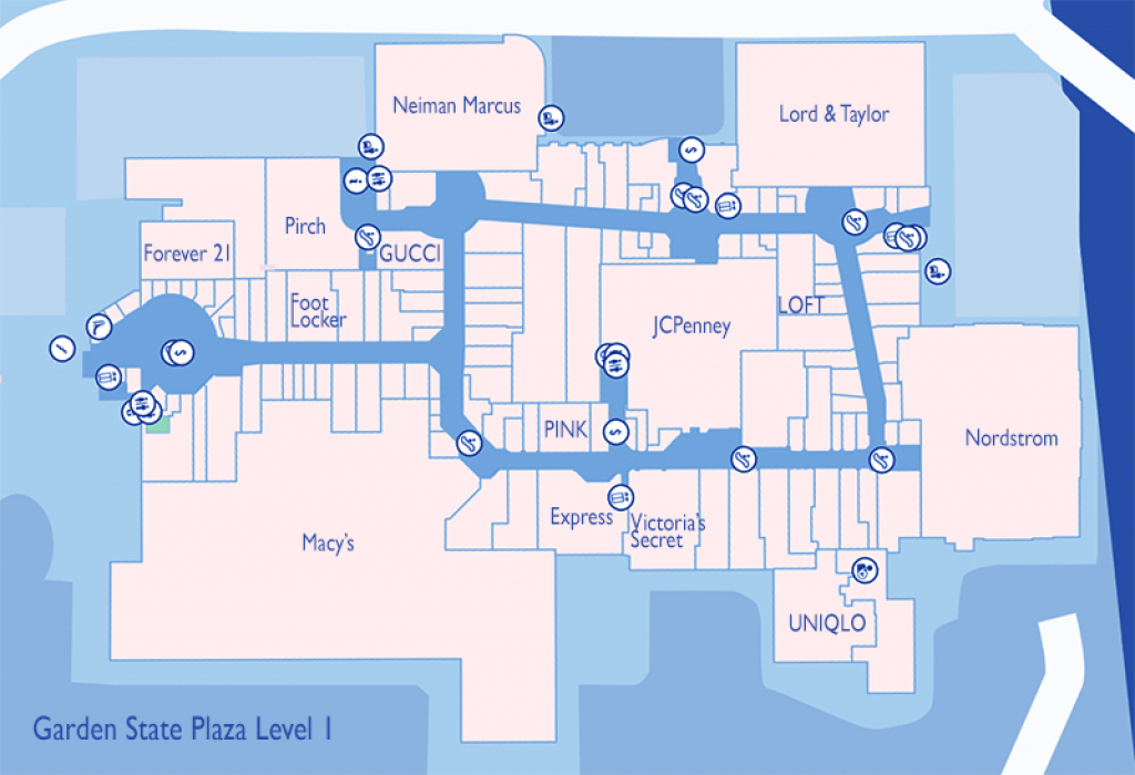 The Best Stores To Visit At Westfield Garden State Plaza In Paramus, Nj with regard to Garden State Plaza Store Map