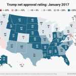 The Cohen And Manafort Convictions Didn't Hurt Trump's Approval Intended For Trump Support By State Map