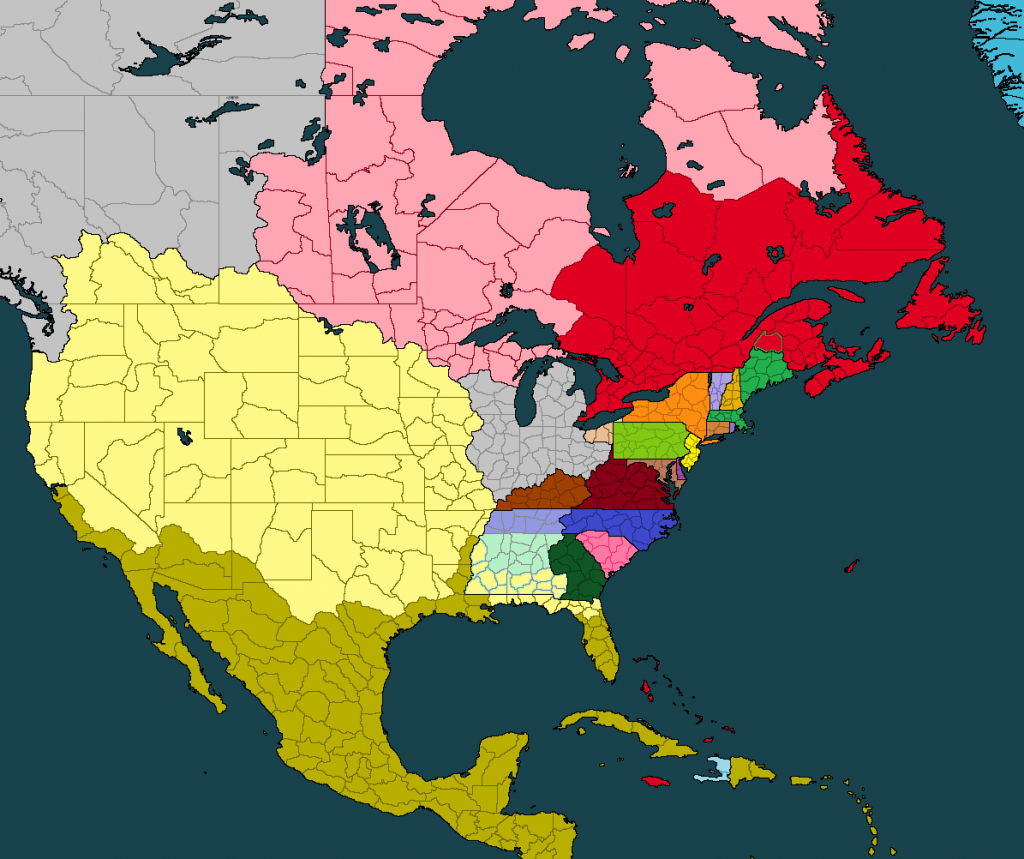 The Disunited States Of America - A Colonial-Era Rp - Games pertaining to Disunited States Of America Map