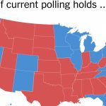 The Electoral Map Looks Challenging For Trump   The New York Times With Trump States Map