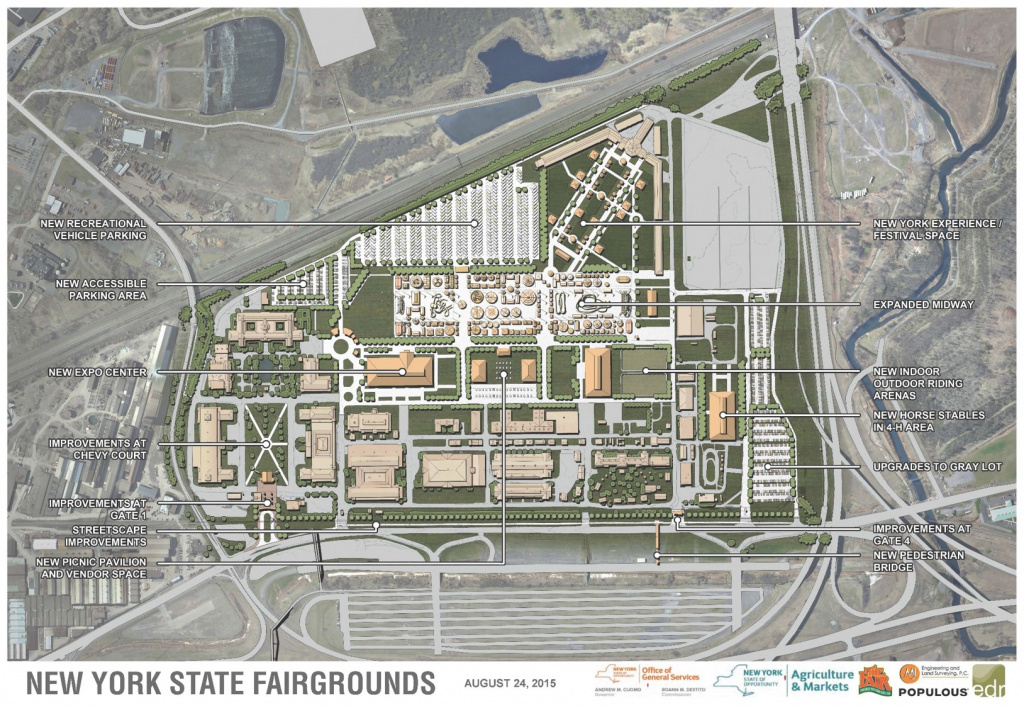 The (Even) Great(Er) New York State Fair - Environmental Design in New York State Fairgrounds Map