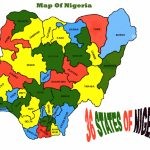 The Federal Republic Of Nigeria   Umunna Cultural Association Of Regarding Map Of Nigeria With States