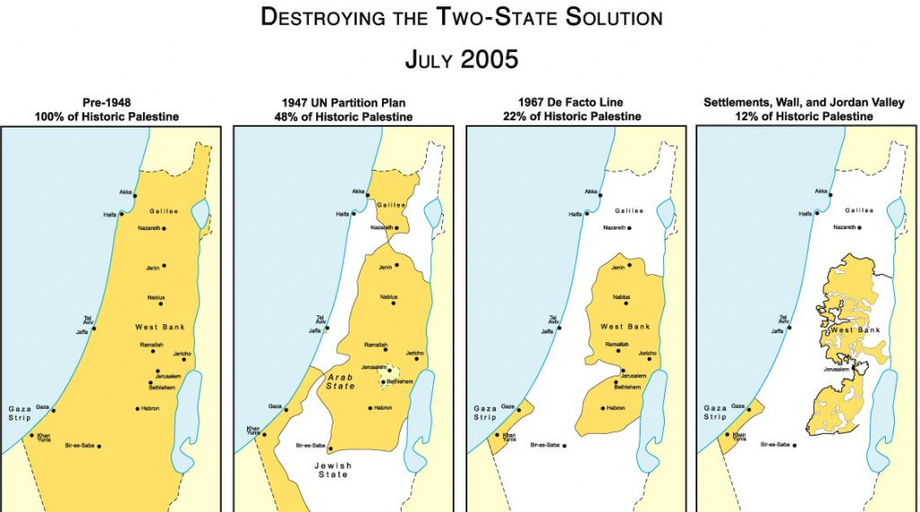 The Geopolitico: Israel Running Out Of Time For A Two-State Solution within Palestine Two State Solution Map