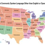 The Most Common Language In Each Us State—Besides English And Spanish Intended For What States Have I Been To Map
