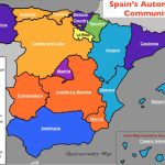 The Nation, Nationalities, And Autonomous Regions In Spain | Geocurrents Inside Spain States Map