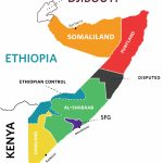 The New Face Of Somalia | Washington University Political Review | Wupr Pertaining To Jubaland State Map