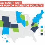 The New Marriage Equality Maps   60% Of Us To Have Marriage Equality With Regard To Map Of Gay Marriage States 2014