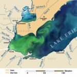 The New Normal? Record Breaking 2011 Lake Erie Algae Bloom May Be Inside Map Lake Erie Surrounding States