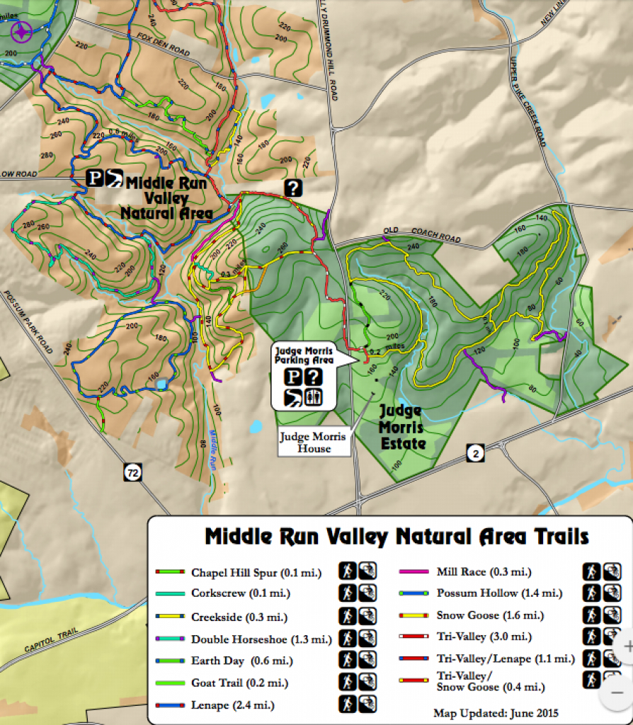 The One Hike In Delaware That's Sure To Leave You Feeling Accomplished pertaining to White Clay Creek State Park Trail Map