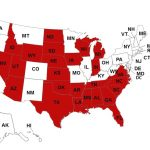 The Right To Work Battle Has Reached A Tipping Point Throughout Map Of Right To Work States