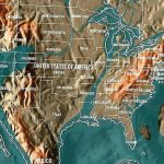 The Shocking Doomsday Maps Of The World And The Billionaire Escape Plans Throughout New Navy Map Of The United States Coastline