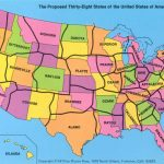 The Thirty Eight States Regarding State Lines Map
