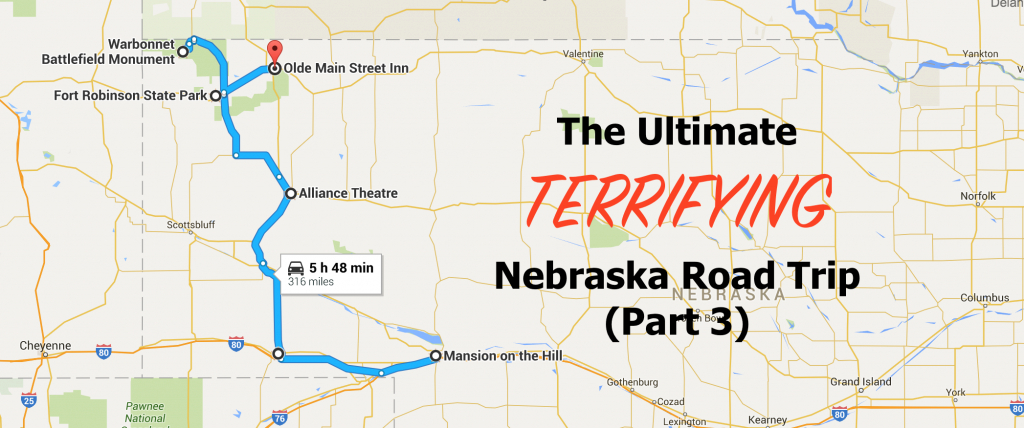 The Ultimate Haunted Nebraska Road Trip - Part 3 pertaining to Map Of Fort Robinson State Park